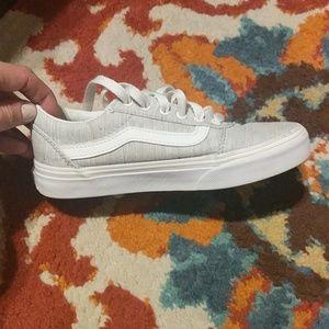 Girls vans shoes size 1